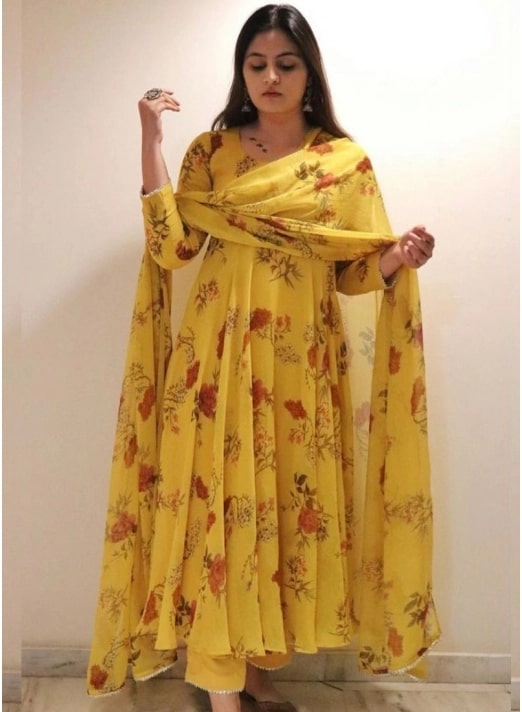 conventional palazzo salwar suit